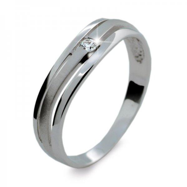 Dámský prsten s diamantem DF1748