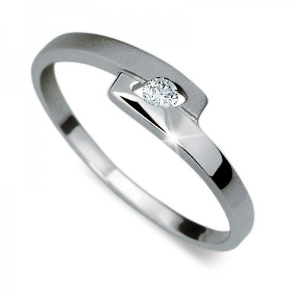 Dámský prsten s diamantem DF1284