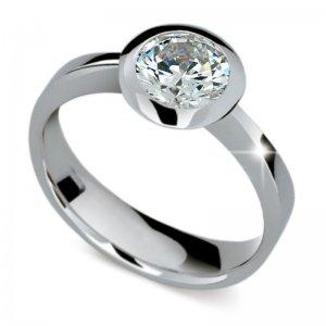 Dámský prsten s diamantem DF1883