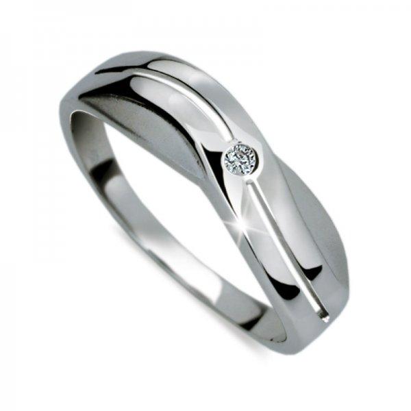 Dámský prsten s diamantem DF1562