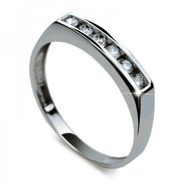 Dámský prsten s diamanty DF1863