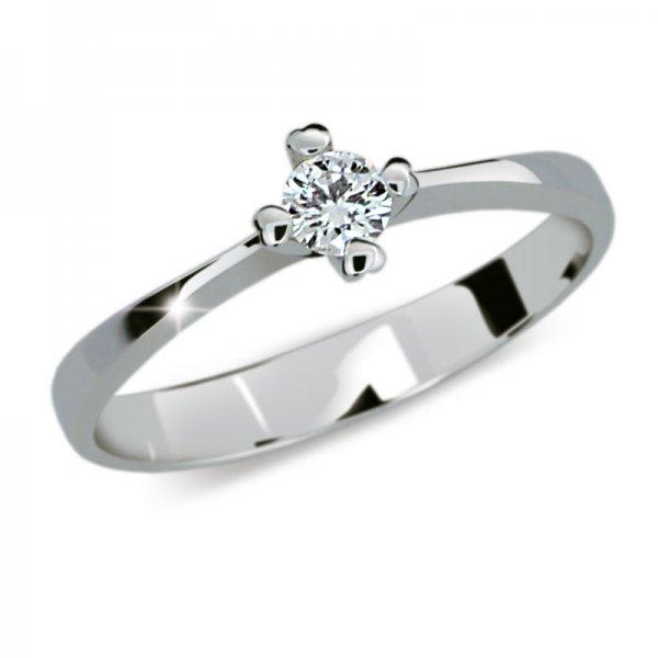 Dámský prsten s diamantem DF2089