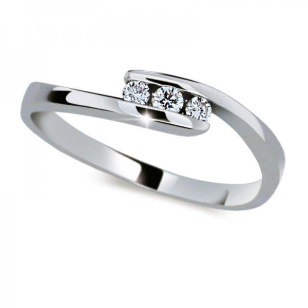 Dámský prsten s diamanty DF2072