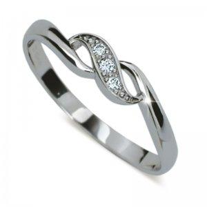 Dámský prsten s diamanty DF2001
