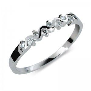 Dámský prsten s diamanty DF2086