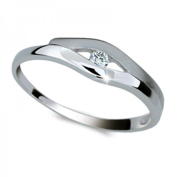 Dámský prsten s diamantem DF1745