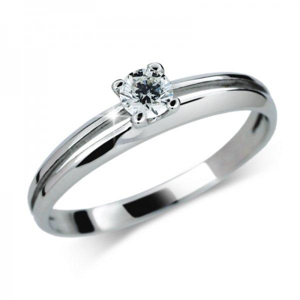Dámský prsten s diamantem DF1272