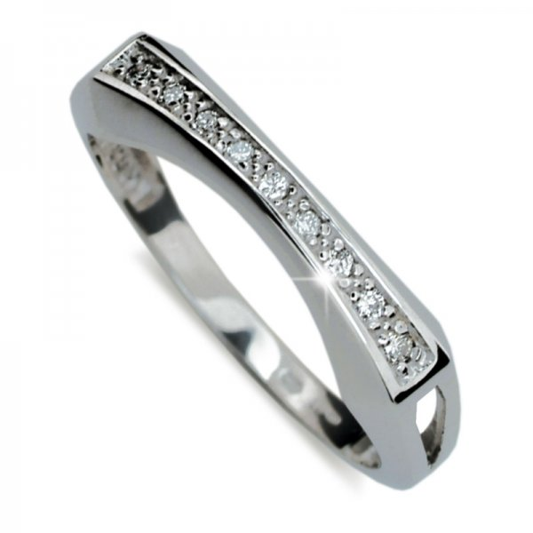 Dámský prsten s diamanty DF2007