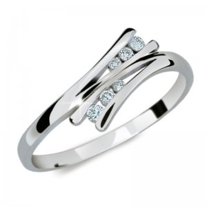 Dámský prsten s diamanty DF1950
