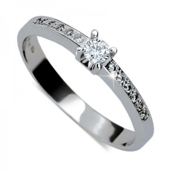 Dámský prsten s diamanty DF1917