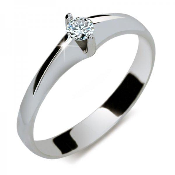 Dámský prsten s diamantem DF1956