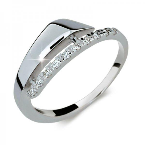 Dámský prsten s diamanty DF2048