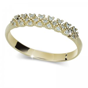 Dámský prsten s diamanty DF2059