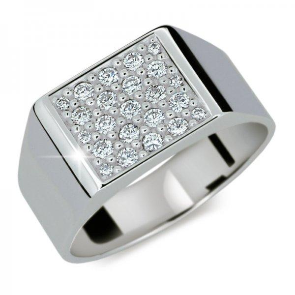 Dámský prsten s diamanty DF2070