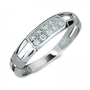 Dámský prsten s diamanty DF2033