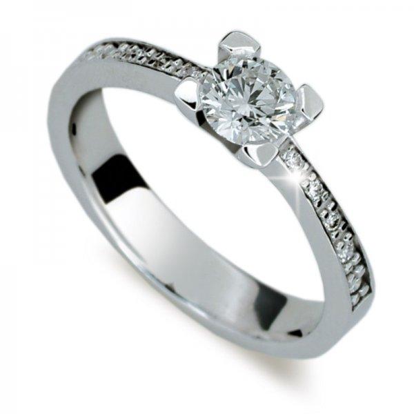 Dámský prsten s diamanty DF1961