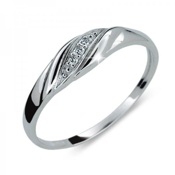 Dámský prsten s diamanty DF2084