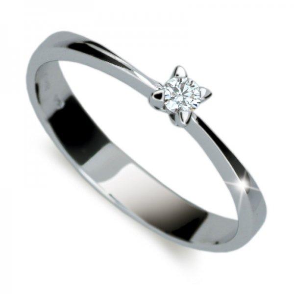 Dámský prsten s diamantem DF1958