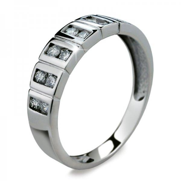 Dámský prsten s diamanty DF2079