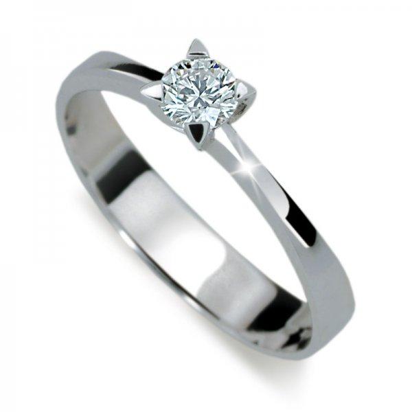 Dámský prsten s diamantem DF1895