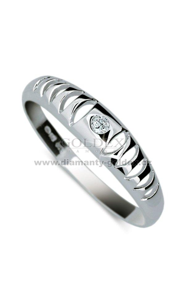 Diamantový prsten DF1282   Diamanty-goldex.cz 1b89361b557