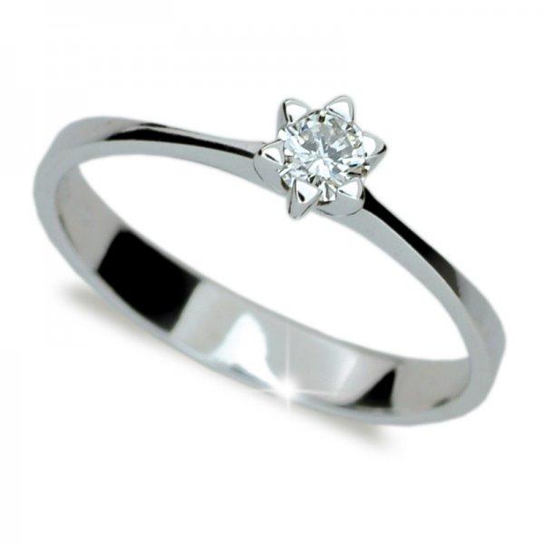 Dámský prsten s diamantem DF1953