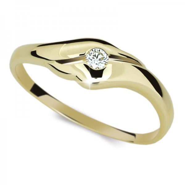 Dámský prsten s diamantem DF1838Z