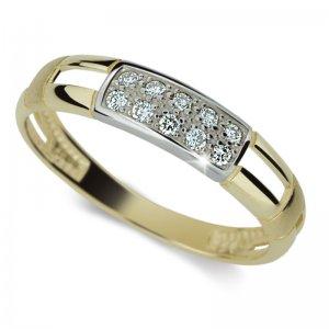 Dámský prsten s diamanty DF2033Z