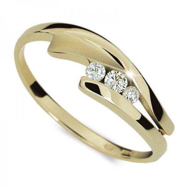 Dámský prsten s diamanty DF1750Z
