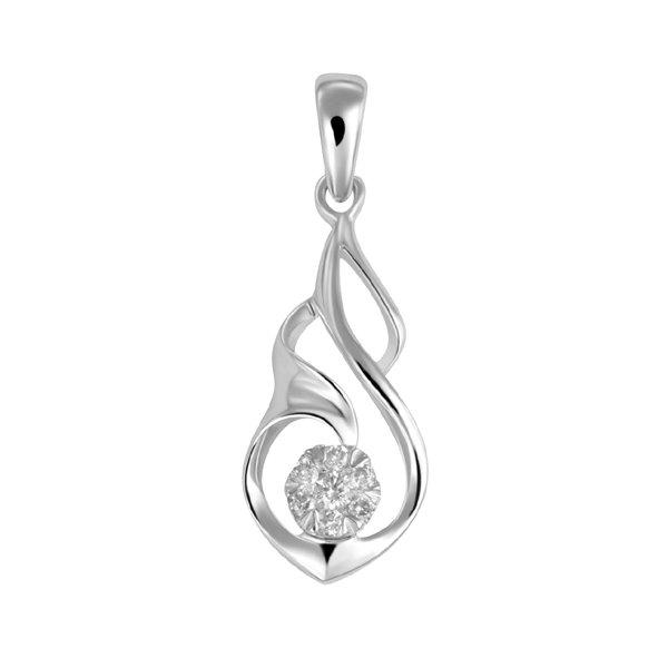 Luxusní přívěsek s diamanty GKW46438