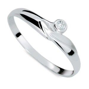 Prsten s diamantem DF1231