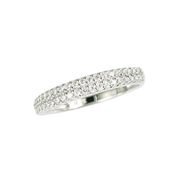Zlatý prsten s diamanty GKW52034