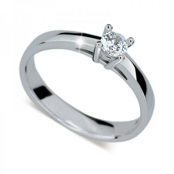 Dámský prsten s diamantem DF1902