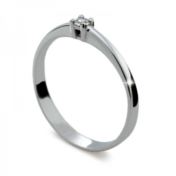 Dámský prsten s diamantem DF1904