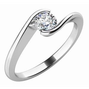 Dámský prsten s diamantem 10743D
