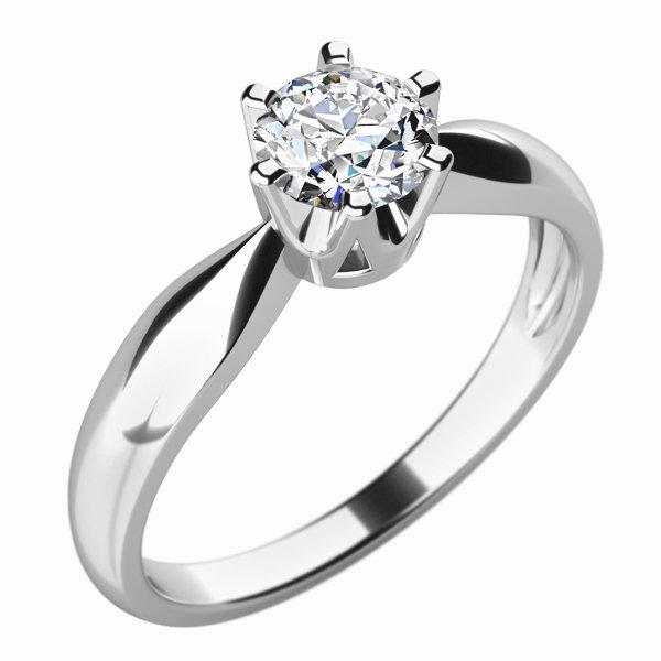 Dámský prsten s diamantem 10763D