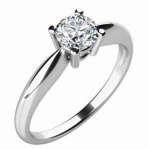 Dámský prsten s diamantem 10702D