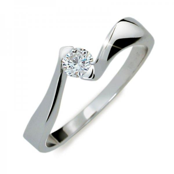 Dámský prsten s diamantem DF1856