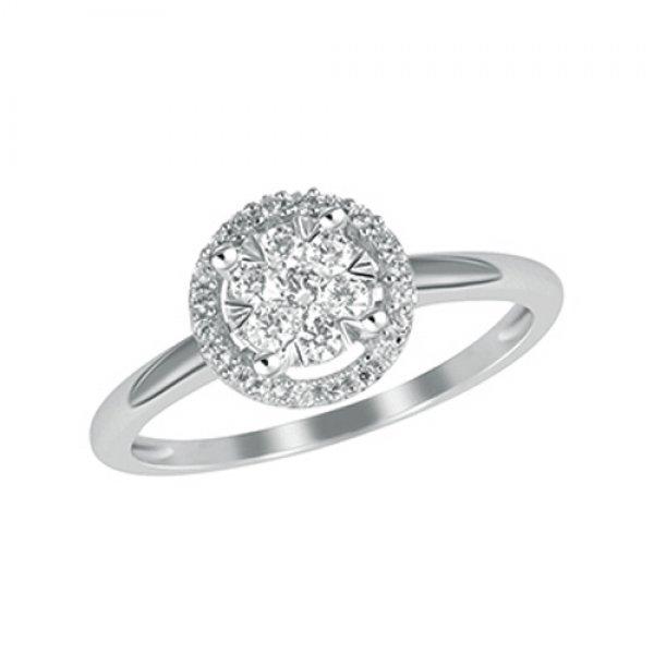 Luxusní prsten s brilianty GKW54351