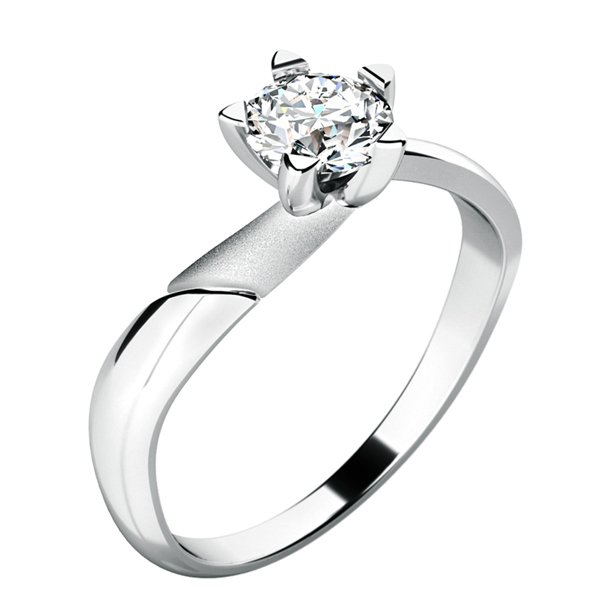 Dámský prsten s diamantem 10786D