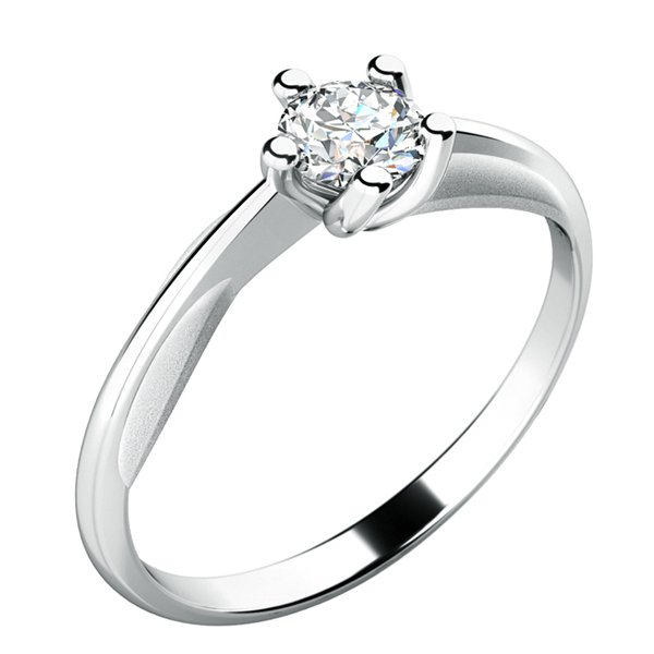 Dámský prsten s diamantem 10785D