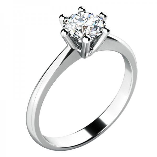 Dámský prsten s diamantem 10720D