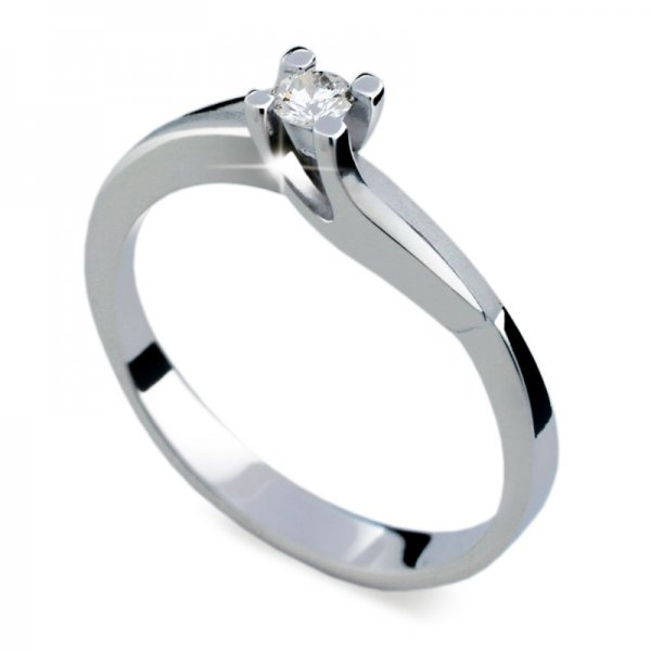 Dámský prsten s diamantem DF1854