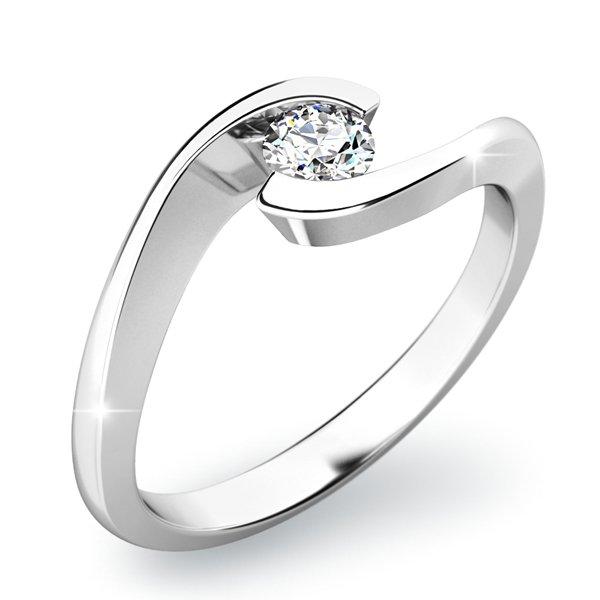 Dámský prsten s diamantem 10842D