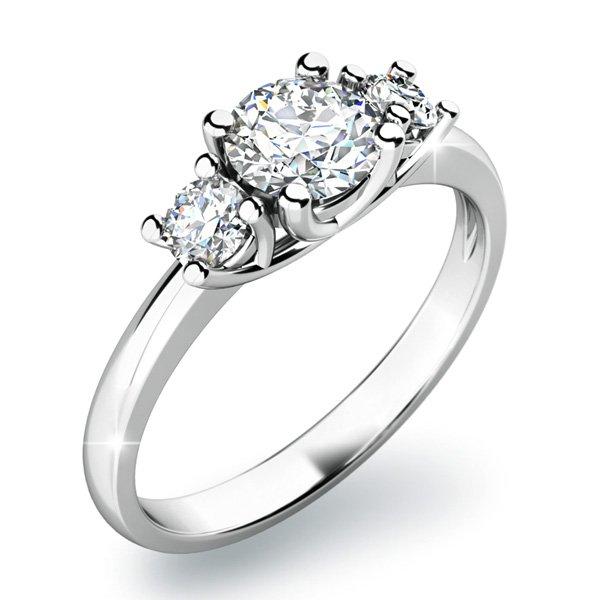 Dámský prsten s diamanty 10803D