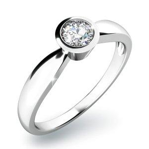 Dámský prsten s diamantem 10810D