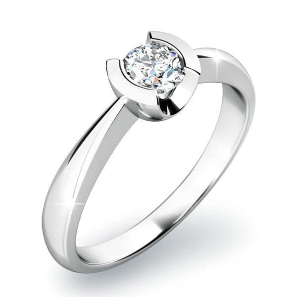 Dámský prsten s diamantem 10809D