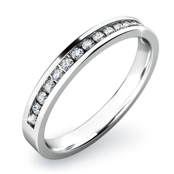 Dámský prsten s diamanty 10812D