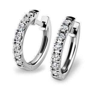 Kruhy s diamanty 10838-B