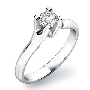 Dámský prsten s diamantem 10805D